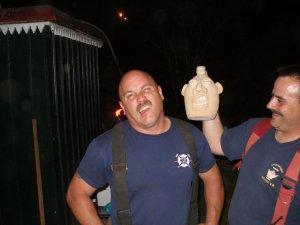 Face jug & fireman