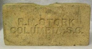 R.M. Stork brick