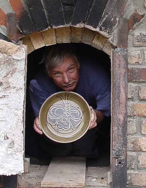 Gary Dexter from the kiln