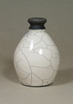 Raku Jug: Local clay, raku glaze