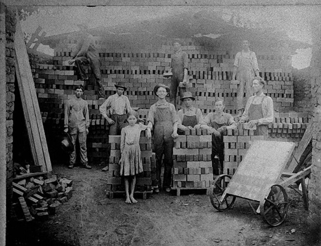 1910 brick-making in Georgia